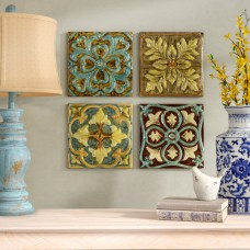 August Grove Melina Medallion Tile Wall Décor ATGR1315