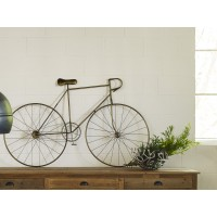 Brayden Studio Bronze Bicycle Wall Décor BRSU3906