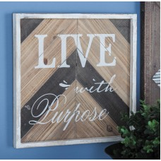 Cole Grey Wood Sign Wall Décor CLRB3912