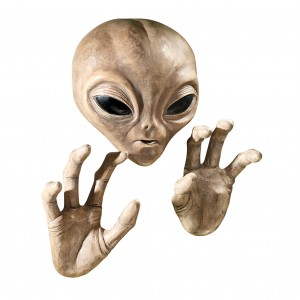 Design Toscano Roswell The Alien Plaque Wall Décor TXG2827