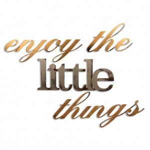 Letter2Word Enjoy the Little Things Wall Décor LETW1044