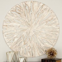 Mistana Striking Carved Wood Panel Wall Décor MTNA3313