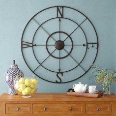 Alcott Hill Retro Compass Rose Wall Décor ALTH3588