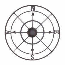 BayAccents Nautical Metal Compass Rose Wall Décor ENTS1001