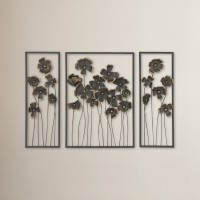 Brayden Studio 3 Piece Chic Wall Décor Set BRSD4979