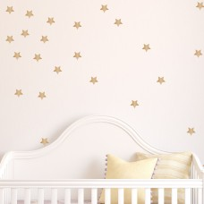 Davis Vinyl Designs Gold Star Wall Decal DVIN1011