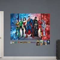 Fathead DC Comics Justice League Justice League Peel and Stick Wall Decal FAH1902