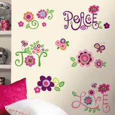 Room Mates Room Mates Deco Love Joy Peace Wall Decal RZM1947