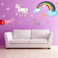 Style and Apply Unicorn Wall Decal SAAP1009