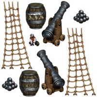 The Beistle Company Pirate Ship Props TBCY1221
