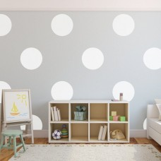 Urban Walls Big Polka Dots Wall Decal URWA1117