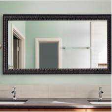 Astoria Grand Derrall Embellished Double Vanity Wall Mirror ASTD2406