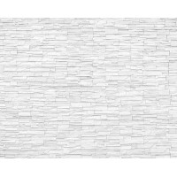 "Williston Forge Millender White Slate 9.8' L x 94"" W 6-Panel Wall Mural BZH10955"