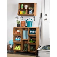 Atlantic Outdoor Wall Cubby with Brackets TNR1303