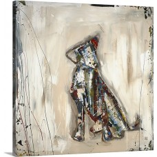 Canvas On Demand 'Pup' by Kelsey Hochstatter Painting Print on Canvas CAOD6064