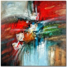 Ebern Designs 'Cube Abstract IV' Painting Print on Canvas EBRN1039