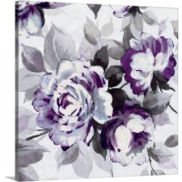 Great Big Canvas 'Scent of Roses III Painting Print in Plum GRNG6109