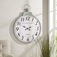 "Birch Lane™ Oversized Timepiece 27"" Wall Clock BL19225"