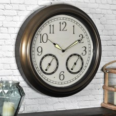 "FirsTime 18"" LED Trellis Wall Clock FSTI1072"