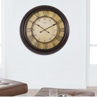 "Studio Designs HOME Oversized Chateau Traditional 24"" Wall Clock STDH1038"