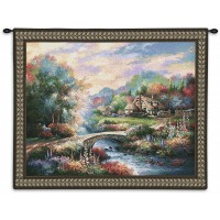 Alcott Hill Country Bridge Tapestry ALTH3266
