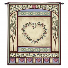 August Grove Pastel Love Quilt II Tapestry AGTG2973