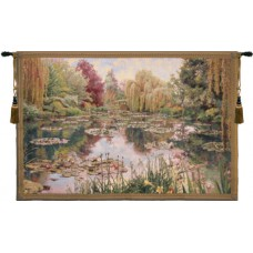 Charlotte Home Furnishings Monet Horizontal Small Tapestry CHHF1128