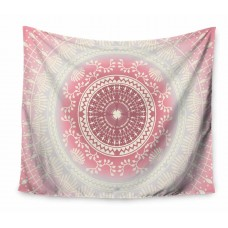 East Urban Home Famenxt Rose Gold Vibes Tapestry and Wall Hanging ETHH4577