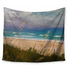 East Urban Home Florida Beach Scene by Carol Schiff Wall Tapestry EHME9731