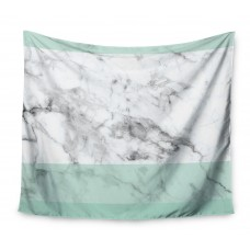 East Urban Home Mint Marble Fade Wall Tapestry EUBN8950