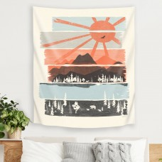 East Urban Home Morning By Bear River by NDTank Tapestry ERBR9194