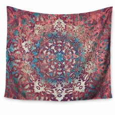 East Urban Home Nina May Magi Mandala Rose Gold Tapestry and Wall Hanging ETHH4746