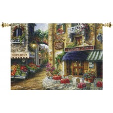 Manual Woodworkers Weavers Buon Appetito Grande Tapestry and Wall Hanging MANU2072