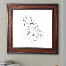 Darby Home Co Country Pine Wall Mounted Dry Erase Board DRBC8960