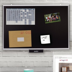 Justick by Smead Surface Technology Display Wall Mounted Combo Board JUSK1009