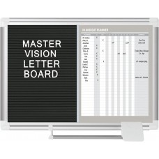 Mastervision Wall Mounted Magnetic Combo Board MSTR1065