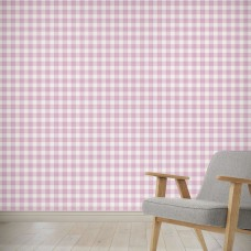 "August Grove High Littleton April Plaid 4' L x 24"" W Peel and Stick Wallpaper Panel NDN14858"