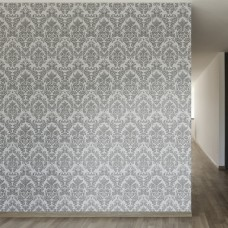 "Walls Need Love Alice Removable 8' x 20"" Damask Wallpaper WANL3468"