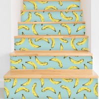 "Walls Need Love Velvet Bananas Removable 5' x 20"" Wallpaper WANL2787"