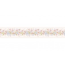 "Brewster Home Fashions 15' x 4.13"" Floral Border Wallpaper BZH7983"