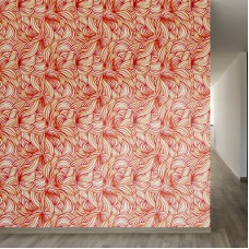 "Walls Need Love A Maze of Grace Removable 8' x 20"" Abstract Wallpaper WANL3135"