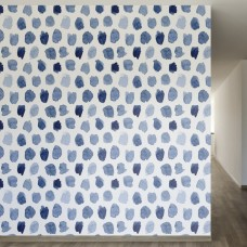 "Walls Need Love Outside the Lines Removable 8' x 20"" Abstract Wallpaper WANL2772"
