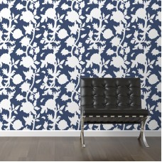 "Walls Need Love Vignette Removable 10' x 20"" Floral Wallpaper WANL3035"