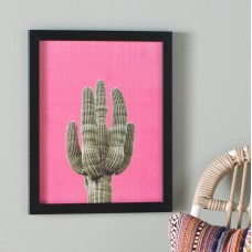 East Urban Home Cactus Framed Graphic Art USSC4120