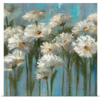 Great Big Canvas 'Daisies' by the Lake' by Silvia Vassileva Painting Print GBCN4033
