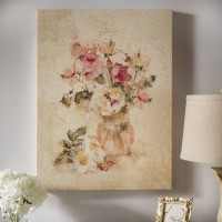 Lark Manor 'Rose Panel I' Painting Print on Wrapped Canvas LRKM1462