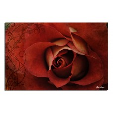 Winston Porter 'Roses are Red' Graphic Art on Canvas WNST1225