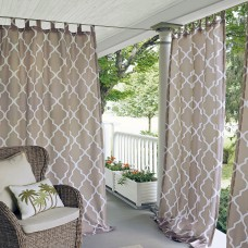 Alcott Hill Geraghty Indoor/Outdoor Polyester Single Curtain Panel ACOT3859