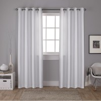 Amalgamated Textiles Carling Exclusive Solid Color Blackout Grommet Curtain Panels EXCH1332