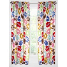 Crayola Sweet Dreams Rod Pocket Single Curtain Panel UBD1902